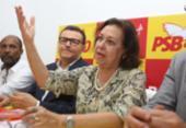 Lidice confirma que é um dos nomes do PSB para Prefeitura de Salvador | Foto: Joá Souza | Ag. A TARDE
