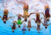 Brasil avança à final da prova combinada do nado artístico no Mundial | Foto: François-Xavier Marit | AFP