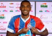 Zagueiro Marllon é apresentado pelo Bahia | Foto: Felipe Oliveira | EC Bahia