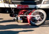 Motociclista morre após ser atropelado por carreta em Feira de Santana | Foto: Reprodução | Acorda Cidade
