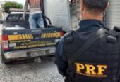 Cerca de 2t de maconha é apreendida escondida em carga na BR-116 | Foto: Divulgação | PRF-BA