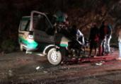 Homem morre em acidente envolvendo carro funerário | Reprodução | Blog Marcos Frahm