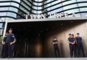 Sul-coreano ateia fogo ao próprio corpo em Seul | Yonhap | AFP