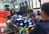 Criança é resgatada após cair em poço de 25 metros | Divulgação | SSP