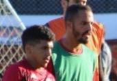 Osmar Loss realiza treino tático e foca em finalização | Divulgação | EC Vitória