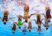 Brasil avança à final do nado artístico no Mundial | François-Xavier Marit | AFP