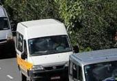 Motoristas de van protestam na avenida Paralela | Margarida Neide I Ag. A TARDE