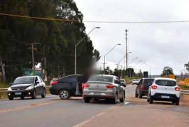 Mudanças viárias causam acidente na BR-116 | Reprodução | Blog do Anderson