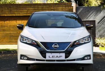 Nissan Leaf chega ao Brasil com toda carga   Divulgação