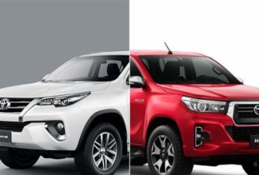 Toyota eleva preço e segurança da Hilux e do SW4   Divulgação