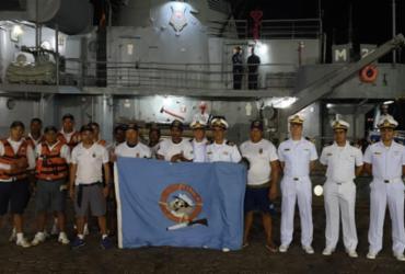 Após dois dias desaparecido, barco pesqueiro com cinco pessoas é resgatado | Divulgação | Marinha do Brasil