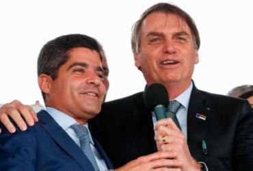 Com recusa de Rui Costa, Bolsonaro dá palanque a ACM Neto | Alan Santos l PR
