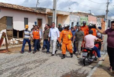 Governador acompanha medidas para garantir segurança aos moradores afetados pelo rompimento de barragem