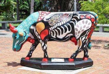 Exposição mundial de arte urbana chega pela primeira vez em Salvador   Divulgação   CowParade Brasil