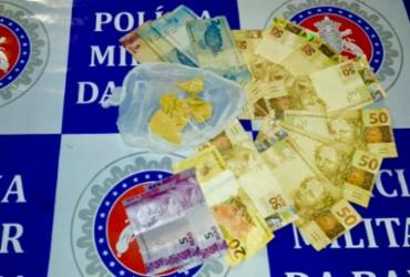 Homem é detido por suspeita de tráfico de drogas em Paulo Afonso | Divulgação | SSP