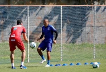 Com a presença de reforços e retorno de Nino, Bahia treina no Fazendão | Felipe Oliveira | EC Bahia
