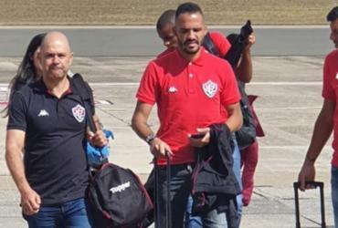 Vitória desembarca em Londrina para partida de terça | Ascom | EC Vitória