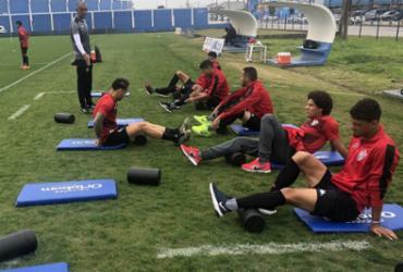 Vitória treina no CT do Avaí antes de seguir para Porto Alegre | Ascom | EC Vitória