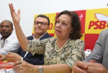 Lidice confirma que é um dos nomes do PSB para Prefeitura de Salvador | Joá Souza | Ag. A TARDE