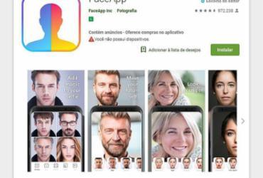 Aplicativo FaceApp pode abrir porta para abusos com dados dos usuários | Reprodução l FACE App