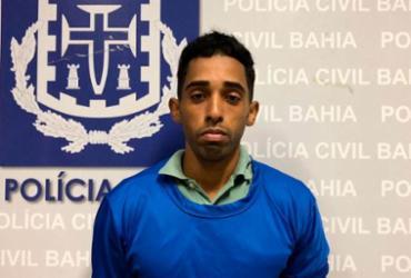 Jovem é preso suspeito de feminicídio em Mata de São João | Divulgação | Polícia Civil