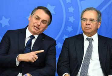 Bolsonaro: 'Acredito que nos próximos dias Guedes vai definir FGTS'   Evaristo Sá   AFP