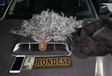 Jovem é detido suspeito de tráfico de drogas em Brotas | Divulgação | SSP