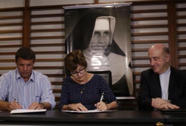 Osid e Arena firmam parceria para celebrar canonização de Irmã Dulce | Raphael Muller l Ag. A TARDE