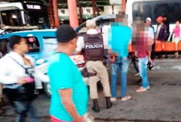 PM frustra tentativa de assalto a ônibus em Feira de Santana | Reprodução | Blog Central de Polícia