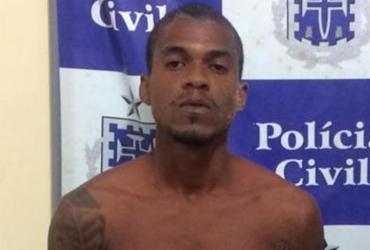 Jovem é capturado após tentar fugir de PMs pelo mar em Amaralina | Divulgação | SSP