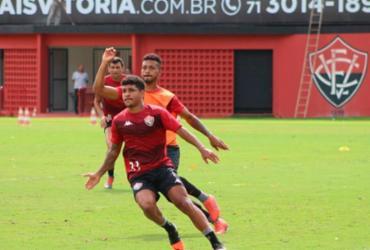 Vitória encerra preparação para jogo contra a Ponte Preta | Divulgação | EC Vitória