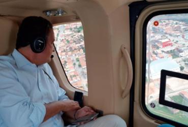 Rui Costa sobrevoa áreas atingidas por rompimento de barragem | Divulgação | GOVBA