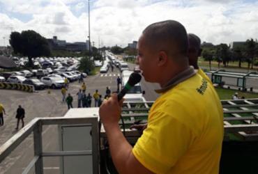 Motoristas de vans protestam em Salvador nesta segunda | Luan Borges I Ag. A TARDE