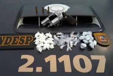 Dois são detidos com armas e drogas em bairros de Salvador | Divulgação | SSP