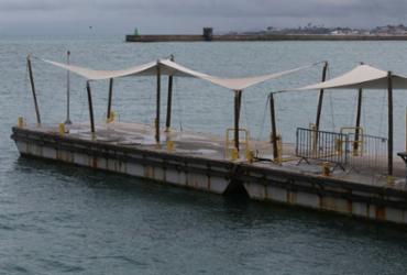 Travessia Salvador-Mar Grande é suspensa devido ao tempo chuvoso | Margarida Neide | Ag. A TARDE