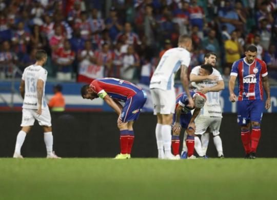 Bahia luta até o fim, mas perde do Grêmio e é eliminado nas quartas | Adilton Venegeroles l Ag. A TARDE
