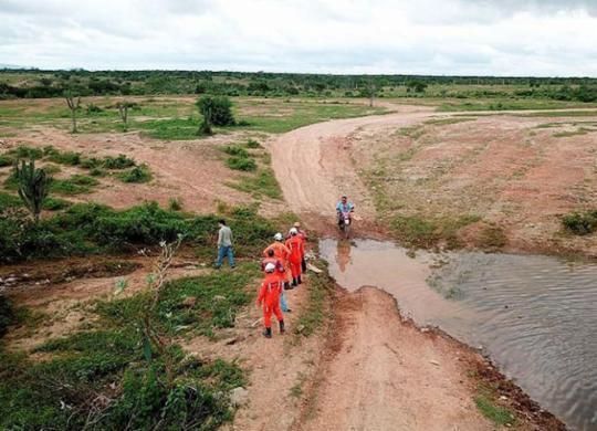 Força-tarefa atua em barragens para tranquilizar a população | Divulgação l Defesa Civil da Bahia