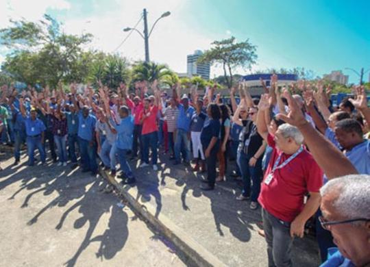Funcionários da Embasa paralisam atividades nesta terça-feira | Reprodução | Sidae-BA