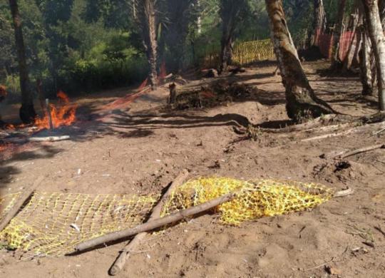 Quilombo em Lauro de Freitas é invadido e tem casa incendiada | Cidadão Repórter | Via WhatsApp