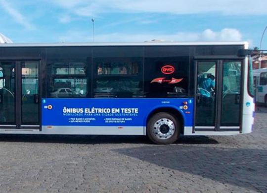Ônibus elétrico será testado na capital baiana nesta terça-feira | Reprodução | HackCities