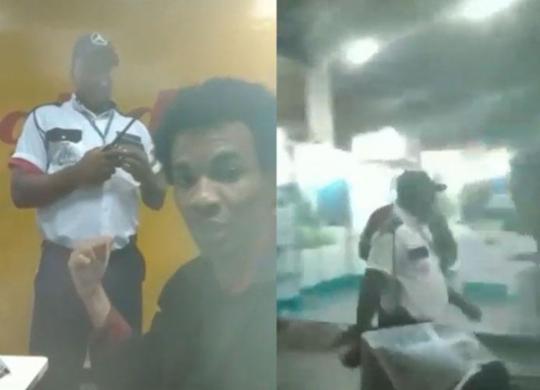 Estudante universitário é agredido por seguranças da rodoviária de Salvador | Cidadão Repórter | Via WhatsApp
