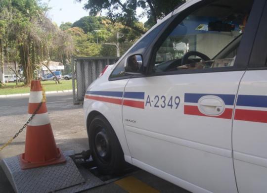 Taxistas são convocados para verificação de taxímetro | Ascom | Ibametro