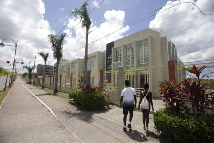 Universidade da Integração da Lusofonia Afro-Brasileira (Unilab) é sediada no Ceará, mas tem campus em São Francisco do Conde (Foto: Raul Spinassé | Ag. A TARDE | 30.1.2019