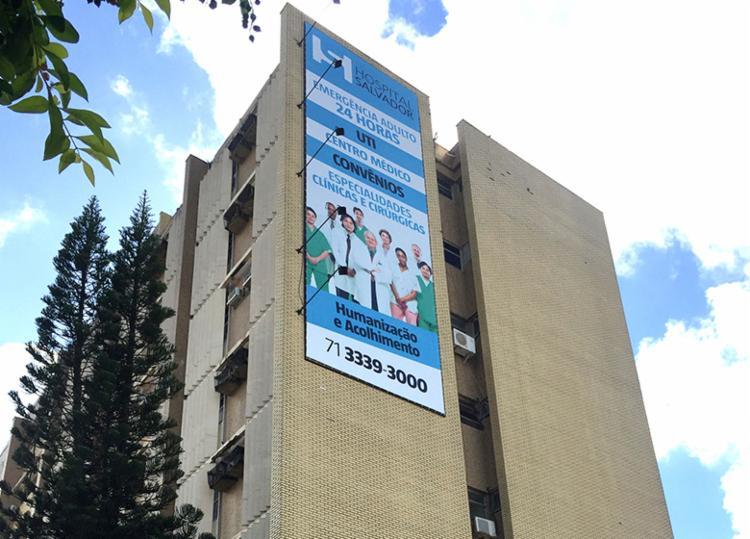 Ação acontece no estacionamento do Hospital Salvador - Foto: Divulgação