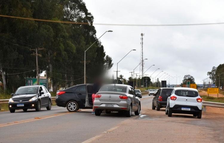 Mudanças na via BR-116 tem deixado motoristas confusos pela falta de sinalização - Foto: Reprodução | Blog do Anderson