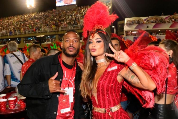 Segundo informações, Aline conheceu o ator no Carnaval deste ano - Foto: Reprodução | O Dia