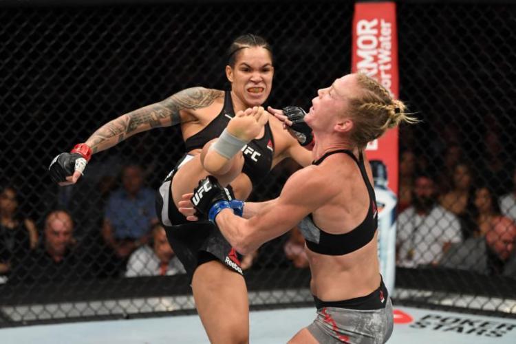 Amanda provou porque é uma das melhores lutadoras - Foto: Reprodução UFC