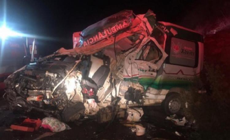 Acidente deixou uma pessoa morta e três feridas - Foto: Reprodução I Blog Marcos Afram