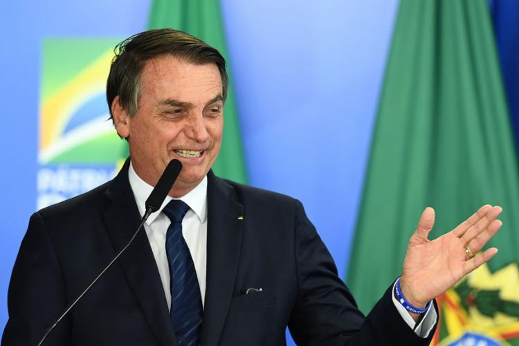 Bolsonaro acrescentou também que o governo apoia as decisões do ministro de Infraestrutura - Foto: Evaristo Sá | AFP