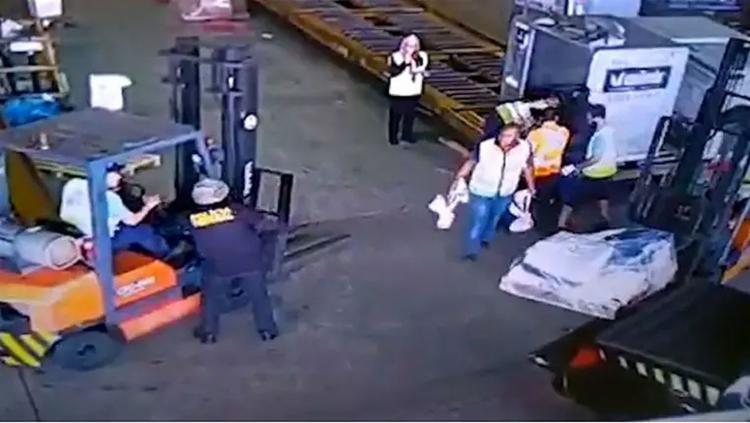 Imagens mostram que ação durou pouco mais de dois minutos - Foto: Reprodução